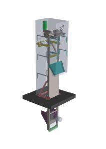 Dégrilleur vertical pour poste de relevage - basket screen equipwater