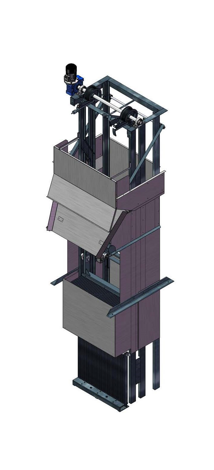 dégrilleur vertical - Verti Screen by Equipwater