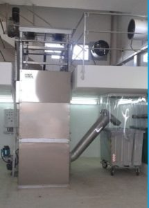 vertical bar screen verti screen in wastewater treatment plant