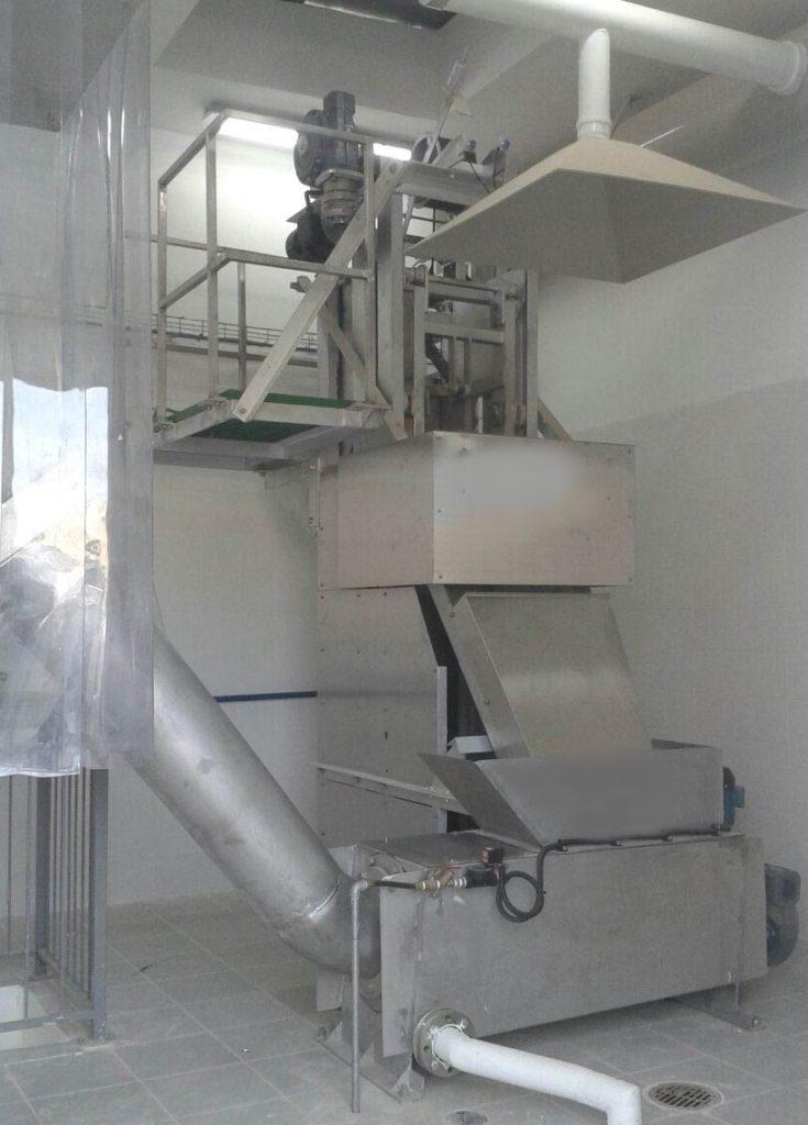 Dégrilleur Vertical Equipwater en station d'épuration