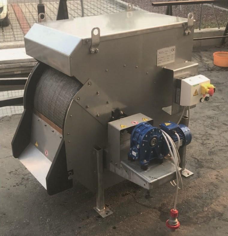 tamis rotatif drum screen equipwater