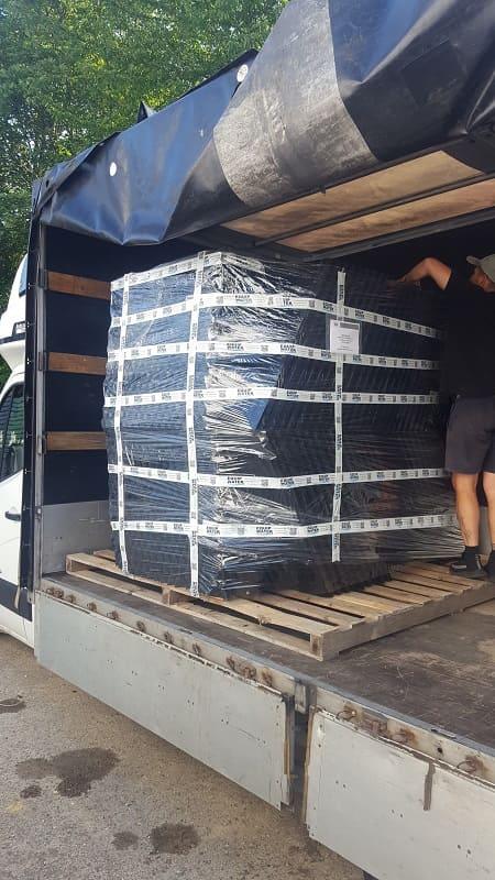loading module packing for lamellar settling tank and decanter